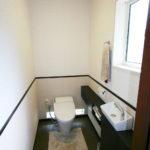 冷たいイメージだったトイレが高級感のあるホテルのようなトイレにうまれ変りました